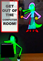 Vector and the Computer by zigaudrey