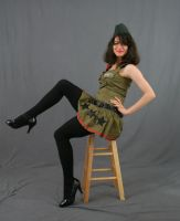 Army Pinup by MajesticStock