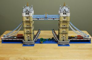 Lego London Tower Bridge by botskey