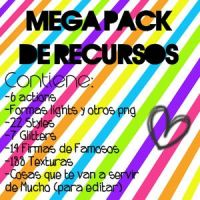 Mega Pack de Recursos [ZIP] by MaartiPatinadora