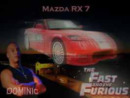 the fast and the furious mazda by saintfighterfire