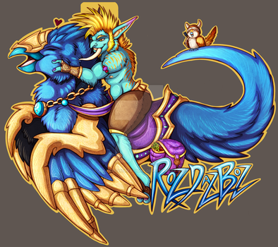 RozDazBoz Mount Badge - Trade by ZulterithCreations