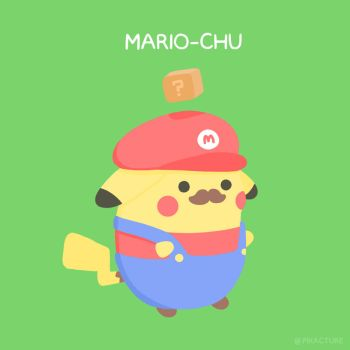 Mario-Chu (Remake) by pikarar