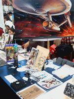 our Star trek booth in FF15 by skylord1015