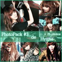Photopack #3 de Hyuna by JoseCr97