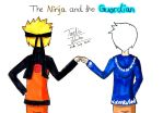 The ninja and the guardian by Crazy226