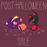 Post-Halloween Sale by wolvesrevolution