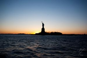 The Statue of Liberty by Inarita
