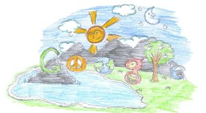 Doodle 4 Google contest entry by LIKyle