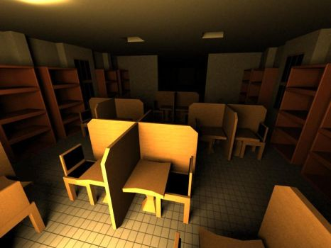 library by Memphiz-3D