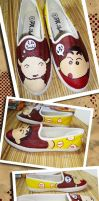 SHIN-CHAN shoes by peanut28