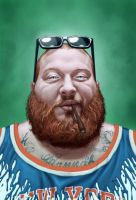 Action Bronson by andrema