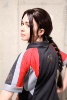 The Hunger Games: Katniss Everdeen Training Outfit by VandorWolf