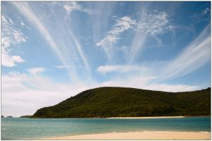 Clouds over Carlisle Island 2 by wildplaces