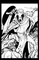 Clone Wars 10 page 3 inks by Hodges-Art