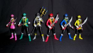 SH Figuarts Gokaiger Team 4 by LinearRanger