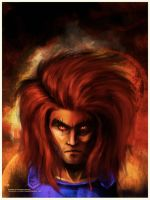 Thundercats Lion-O by greenwindstudio