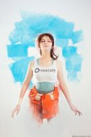 Chell art by AGflower