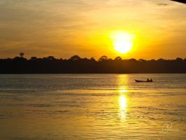 Amazonian Sunrise by DreamsOnSand