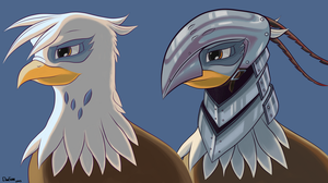 Gilda Portrait (+Armoured) by DimFann