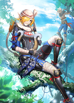 Hyrule Warriors by muse-kr