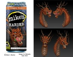 Mike's Harder: Dragon Fury by RedCoaster