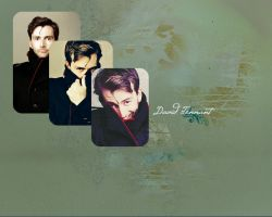 David Tennant Wallpaper by FirstTimeLady