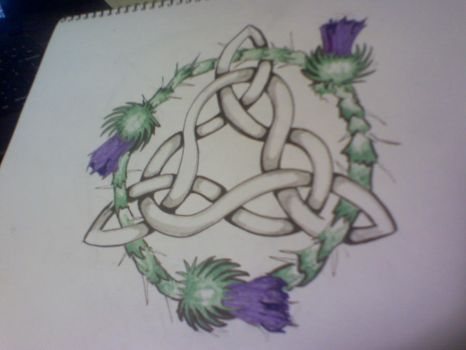 Celtic knot tattoo by SleepSearcher04