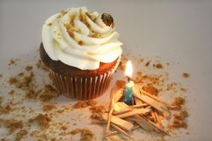 Smores Cupcake by FightTheAssimilation