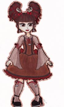 Christmas Lolita Collection Redux: Reindeer Lolita by TheDramaticMonarch