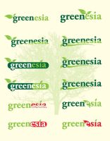 Logo Greenesia by dzinc