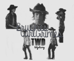 Carl Grimes TWD Brushes by lvlydiary