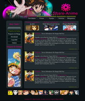 Share Anime Web Layout V2 by Asgard-Raven
