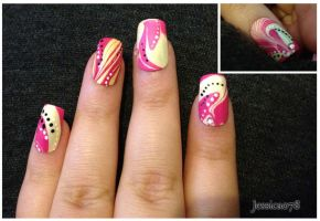 Groovy (Water Marble) by Jessica078