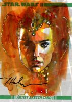 Padme by markmchaley