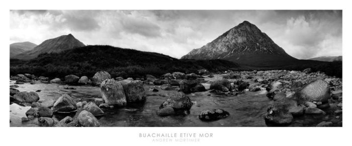 Buachaille Etive Mor BW by mortimea