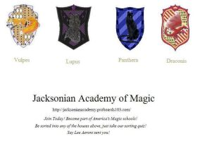Jacksonian Academy of Magic by shea-aeront