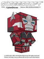 Cubeecraft - Sentinel Prime by CyberDrone