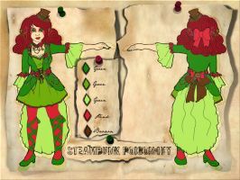 Steampunk Poison Ivy Design by SnowFright