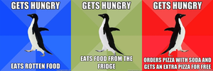 Social Penguins - Get Hungry by juanito316ss