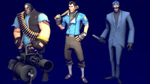 My Loadouts for Heavy, Scout and Spy (BLU) by NMaster90
