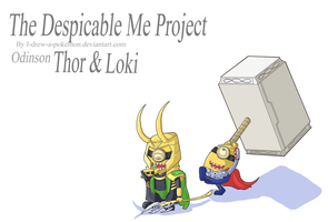 Despicable Tor And Loke by I-drew-a-pokemon