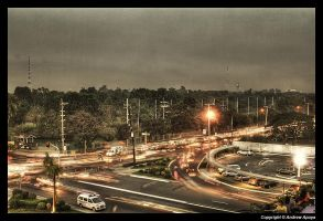North Avenue in HDR by andrewapuya