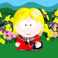 APH: Volarlberg as a South Park Character by mandababe12