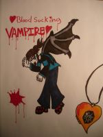 Blood Sucking Vampire by Blue-Fire-likes-pie