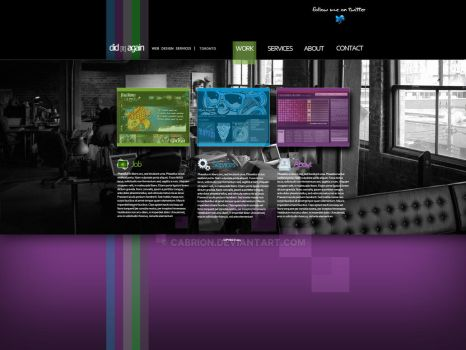 Web Design Layout by cabrion