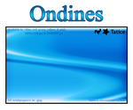 Waves wallpapers - Ondines by tatice
