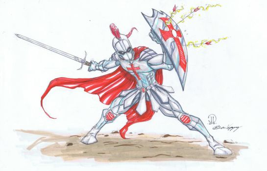 Armor of God markers by JoeyVazquez