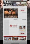 irUFC Website Template by sarakhanoom