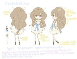 Tuesday: character sheet by ennemme